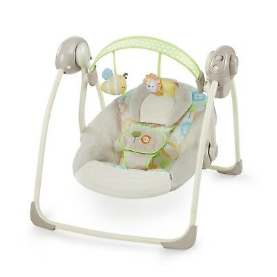 Ingenuity Soothe 'n Delight Portable Swing - Sunny Snuggles