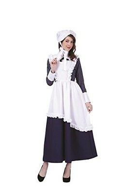 RG Costumes Women's Colonial Lady Pin-stripe Adult Small Fancy Dress New