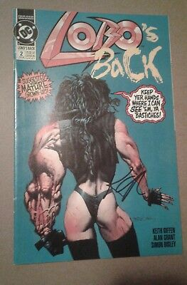 Lobo's Back #2 (Jun 1992, DC) Signed by Keith Giffen!