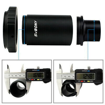"New SVBONY 1.25""CA1 Camera/Telescope Extension Tube Adapter+T2 Ring For Canon YS"