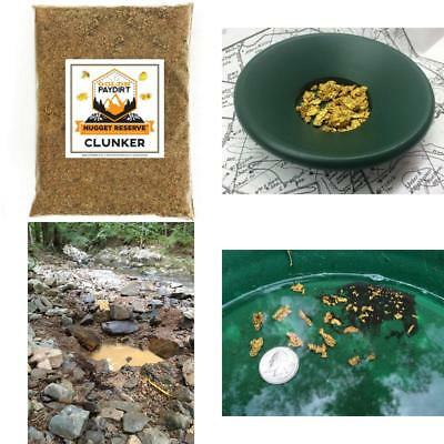 Nugget Reserve Gold Paydirt Clunker Panning Pay Dirt Bag – Prospecting Precious