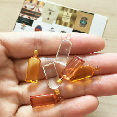 6pcs/set Dollhouse Miniature 1:12 Wine Whisky Bottles Shop Pub Bar Kitchen Drink