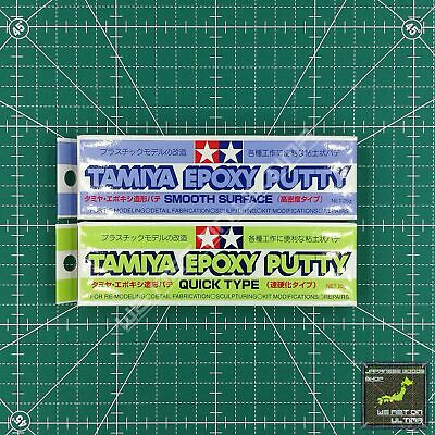 Tamiya Epoxy Putty Quick(87051), Smooth Surface(87052) FREE SHIPPING From JAPAN