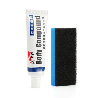 Car Scratch Remover Paste Paste with Sponge Brush Car Scratch Remover