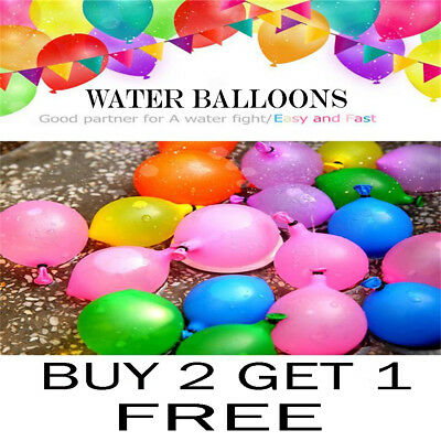 500 PCS Pack Large Size Outdoor Party Balloons Shooting Water Bomb Balloons Toys