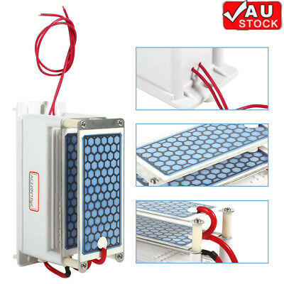 10g Ozone Generator Disinfection Machine Home Air Purifier AC 220V + Steel Cover