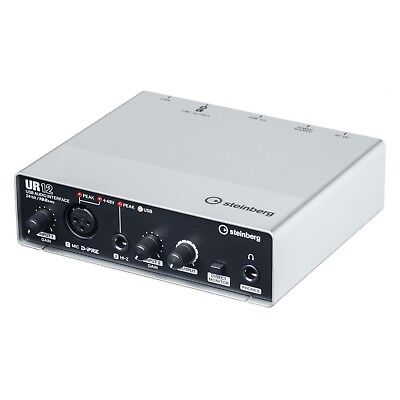 Steinberg UR12 - USB Audiointerface - Neuware