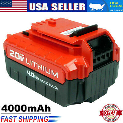 4.0Ah Lithium-Ion 20 Volt Battery for PORTER CABLE 20V Max PCC680L PCC685L Tools