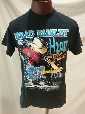 Brad Paisley Concert Shirt. H2O World Tour. Men's sz. M. Country Music