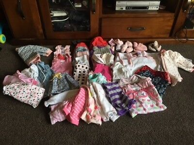 Baby Clothes - Assorted - Size 000 - Girls