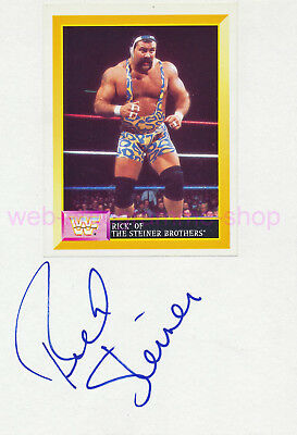 Rick Steiner Brothers - Wwf Wwe Wcw - Signed In Person Autogramm Autograph 1997