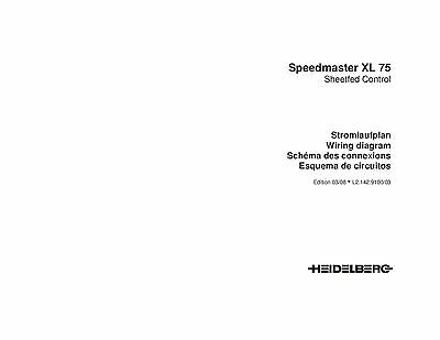 Heidelberg Speed Master XL-75 wiring diagram (124)