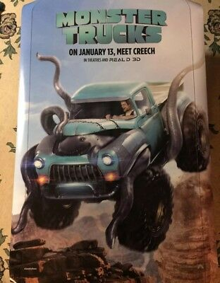 MONSTER TRUCKS Authentic 27x40 D/S Rolled Movie Poster.