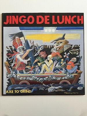 Jingo De lunch Axe To Grind Vinyl