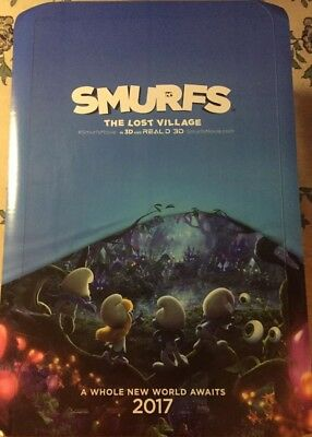 SMURFS Authentic 27x40 D/S Rolled Movie Poster.
