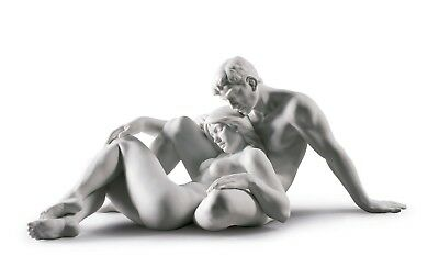 LLADRO lovers couple man woman 01009284 AN EVERLASTING MOMENT 9284 NEW IN A BOX