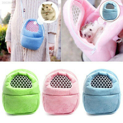 Ventilation Outdoor Chinchilla Hamster Shoulder Bag Rat Pocket Cute Small 43E5