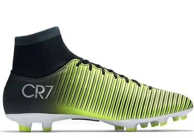 a33df0e9c9c3 Nike CR7 Mercurial Victory VI DF Football Sock Boots Size 4.5 Uk New Ronaldo