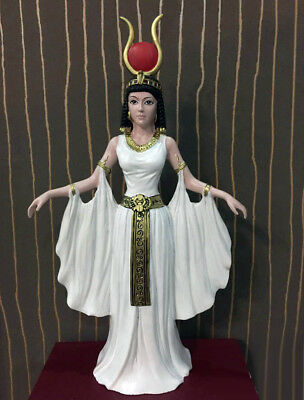"10"" Ancient Egyptian Queen Nefertiti Resin Figurine Egypt Statue Decoration Gift"
