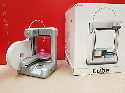 3D SYSTEMS CUBIFY - Cube 2nd gen  wireless 3D printer - Silver