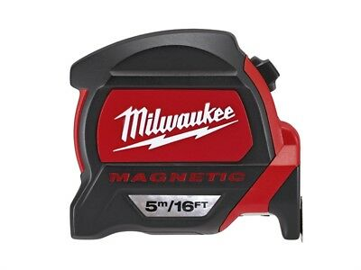 Milwaukee MIL48227216 Premium Magnetic Tape Measure 5m/16ft (Width 27mm)