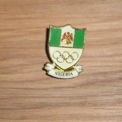 noc Vintage Thailand National Olympic Committee Pin 1970s Generic Rare