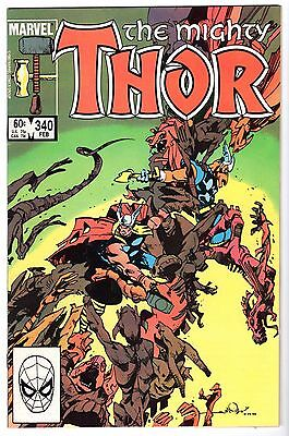 Thor #340, Near Mint Minus Condition'