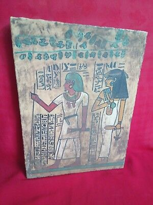 Ancient Egyptian rare Wood panel (1839 BC)