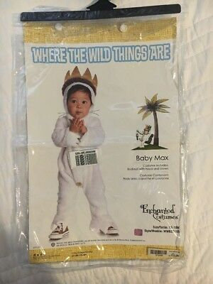 Infant Where The Wild Things Are Baby Max Costume 12-18 Months