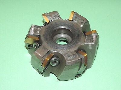 """Indexable 4"""" Face Milling Cutter with Inserts"""