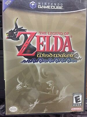 Legend of Zelda: The Wind Waker (GameCube) Complete with Special Preview RARE