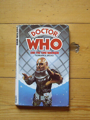 Doctor Who and the Time Warrior *1978 W H ALLEN HARDBACK*