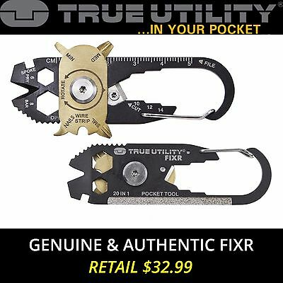 True Utility by NEBO FIXR 20-in-1 Pocket Multi Tool Keychain - Limited Edition