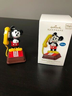 Hallmark KOC, Mickey's Talking Telephone, Mickey Mouse, MAGIC, 2011, Artist Crow