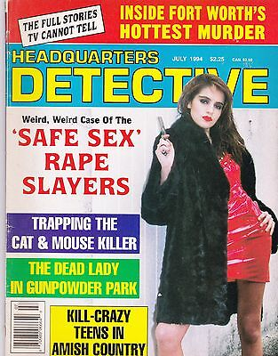 Headquarters Detective American Issue? July 1994, 66 Pages Soft Back Edition