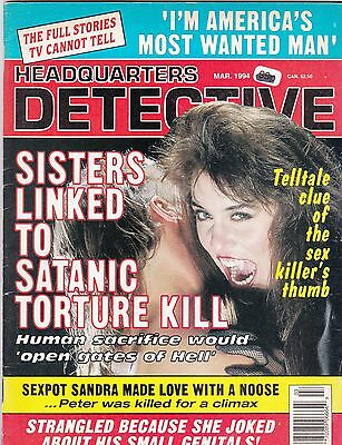 Headquarters Detective American Issue? March 1994, 66 Pages Soft Back Edition