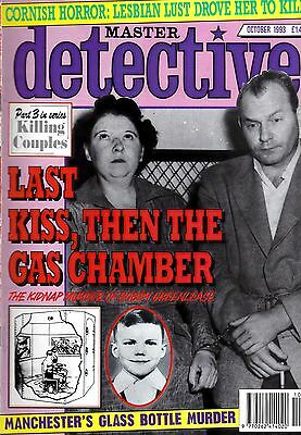 Master Detective Issued October 1993, 50 Pages Soft Back Edition,
