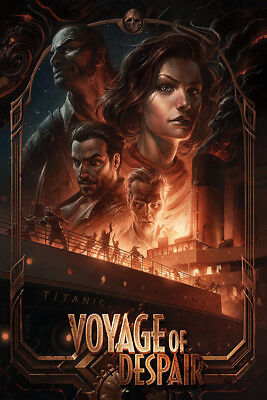 """Call of Duty Black Ops 4 Zombies Voyage of Despair Poster 48x32"""" 40x27"""" Silk"""