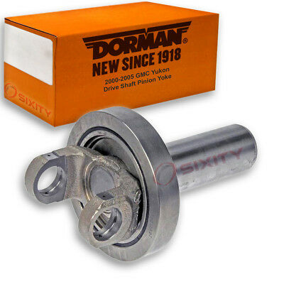 Dorman Rear Driveshaft at Transfer Case Drive Shaft Pinion Yoke for GMC la
