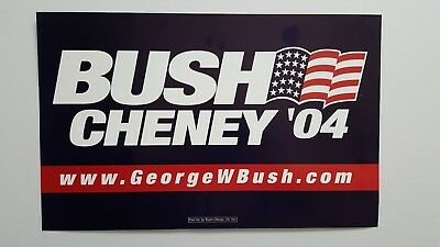 George W. Bush 2004 Campaign Sign