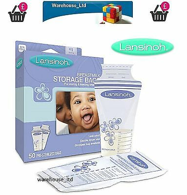 Lansinoh 100 Breastmilk Storage Bags