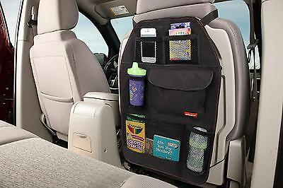 Diono Stow 'n Go Backseat Organiser and Protector Black  Range Rover BMW