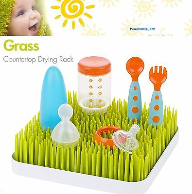 Boon Grass Baby Bottle Countertop Bottle Drying Rack Utensils Kitchen