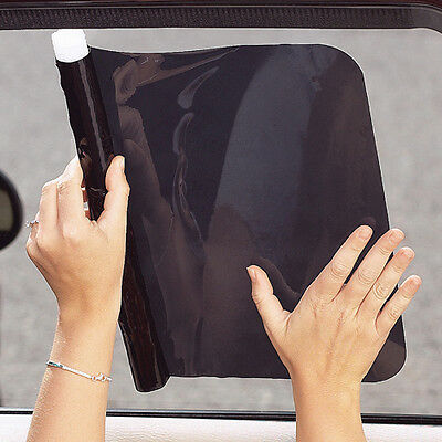 Car Sun Shades Diono Cool Shade Static Cling Sun Protection Black