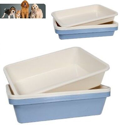 Animal Instincts Cat Plastic Open Standard Litter Tray High Quality Strong Liner