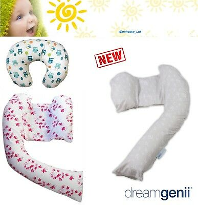 Dreamgenii Pregnancy Maternity Pillow Cover New Design, Baby Feeding Pillow