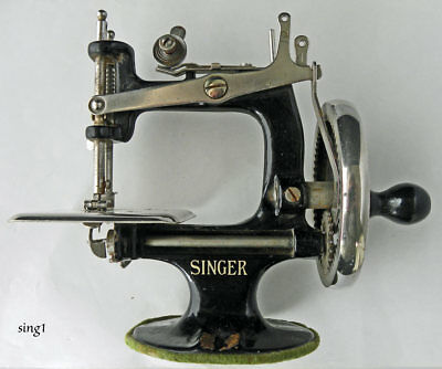 SINGER MODEL 40 Child's Sewing Machine 40 40 Spoke Wheel 4040 Adorable Singer 20 Sewing Machine
