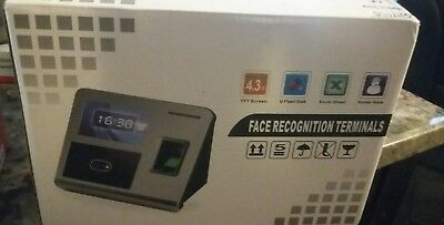 NEW OPEN BOX Face Recognition Terminal With Finger Print Scanner