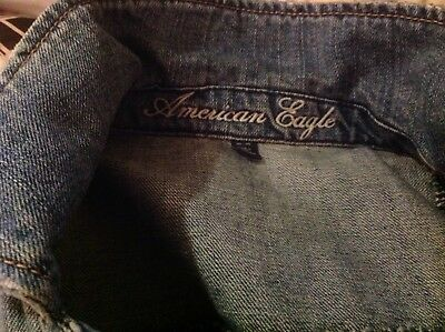 American Eagle Denim Jean Jacket - Size M