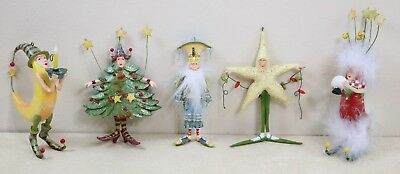 PATIENCE BREWSTER DEPT 56 Krinkles Christmas Ornament Lot - $56.99 ...